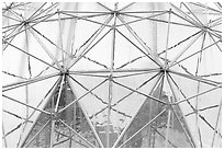 Science world dome. Vancouver, British Columbia, Canada ( black and white)