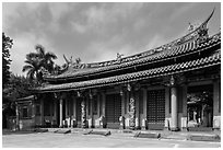 Lingxing gate, Confuscius Temple. Taipei, Taiwan ( black and white)
