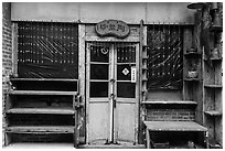 Old storefront. Lukang, Taiwan ( black and white)
