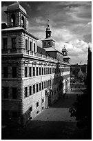 Rathaus (city hall). Nurnberg, Bavaria, Germany ( black and white)