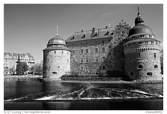 Orebro slott (castle) in Orebro. Central Sweden