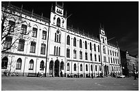 City hall, Orebro. Central Sweden (black and white)