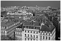 Presqu'ile cityscape. Lyon, France ( black and white)