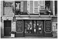 Brasserie, Chartres. France ( black and white)