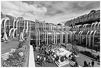 Forum des Halles. Paris, France (black and white)