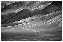Lights and shadows, Karsha monastery, Zanskar, Jammu and Kashmir. India (black and white)