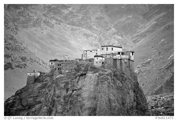 Bardan monastery, Zanskar, Jammu and Kashmir. India