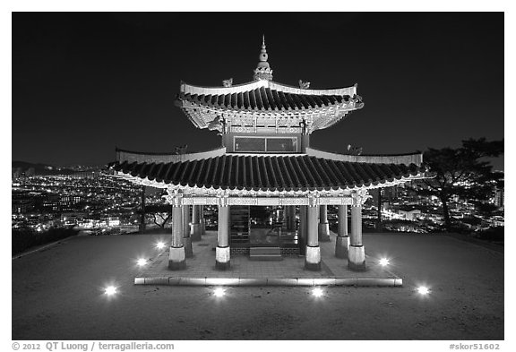 city lights black and white - photo #31