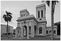 Cathedral of the Assumption. George Town, Penang, Malaysia (black and white)