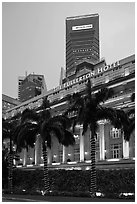Central Business District Black And White Pictures Asia