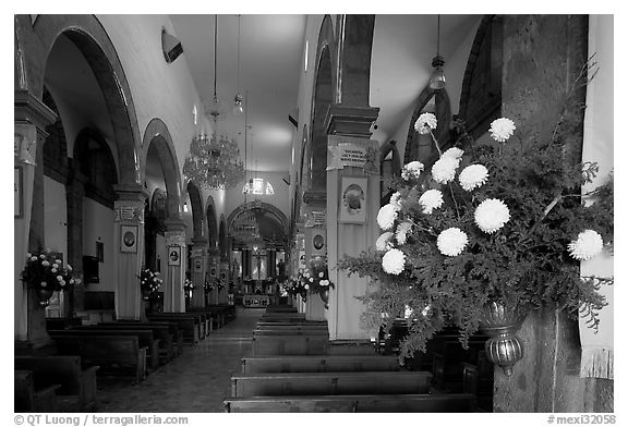 Nave of Church, Tlaquepaque. Jalisco, Mexico
