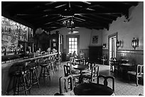 Bar Andaluz, Riviera Del Pacifico, Ensenada. Baja California, Mexico ( black and white)
