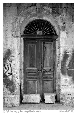 Door. Jerusalem, Israel