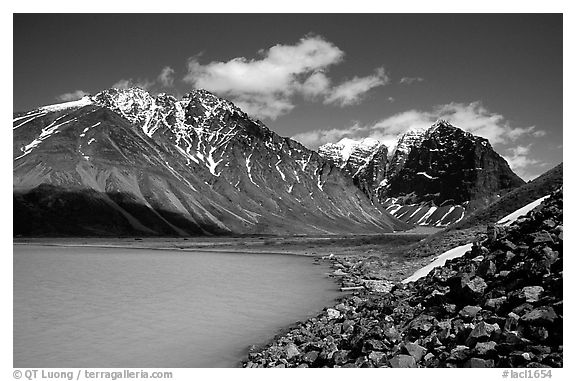 Lake Clark National Park Black and White pictures - US National