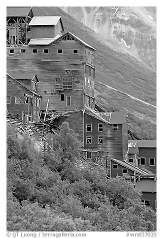 Kennecott mill. Wrangell-St Elias National Park, Alaska, USA.