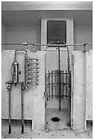 Bathing equipment, mens bath hall. Hot Springs National Park ( black and white)