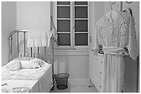 Ladies private room. Hot Springs National Park, Arkansas, USA. (black and white)
