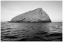 Sutil Island. Channel Islands National Park ( black and white)