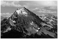 Johannesburg Mountain, North Cascades National Park.  ( black and white)