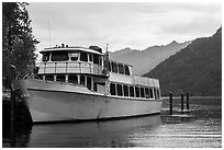 Lady of the Lake II, Stehekin, North Cascades National Park Service Complex.  ( black and white)