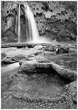 Havasu Canyon near Hualapai Hilltop. Grand Canyon National Park, Arizona, USA. (black and white)