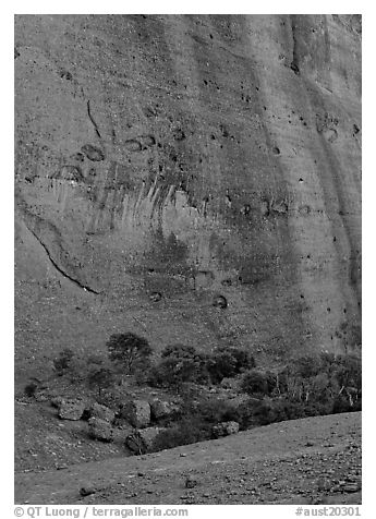 Rock wall, the Olgas. Olgas, Uluru-Kata Tjuta National Park, Northern Territories, Australia