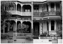 Residences. Sydney, New South Wales, Australia (black and white)