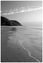 Beach near Cape Tribulation. Queensland, Australia ( black and white)