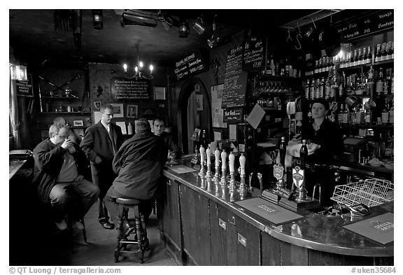 Black And White Picture Photo Inside The Pub The Grenadier London