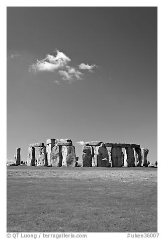 Prehistoric monument of megaliths, Stonehenge, Salisbury. England, United Kingdom
