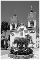 Portuguese Cathedral. San Jose, California, USA (black and white)