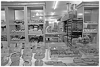 Acme bakery in the Ferry building. San Francisco, California, USA ( black and white)
