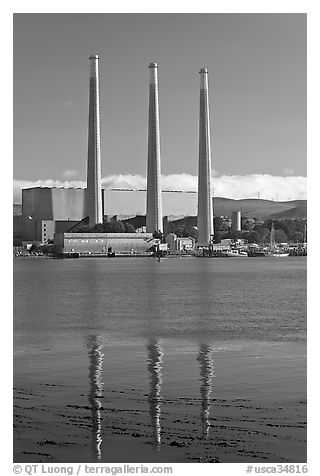 Duke Energy power plant. Morro Bay, USA