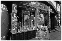 Positively Haight Street store. San Francisco, California, USA ( black and white)
