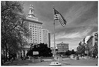 City Hall. Oakland, California, USA (black and white)