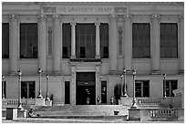 University Library, CAL. Berkeley, California, USA (black and white)