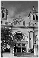 Church, Hayward. California, USA (black and white)