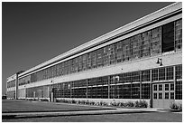 Ford Assembly Plant, Rosie the Riveter National Historical Park. Richmond, California, USA ( black and white)