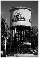 Water Tower, Tehachapi. California, USA ( black and white)