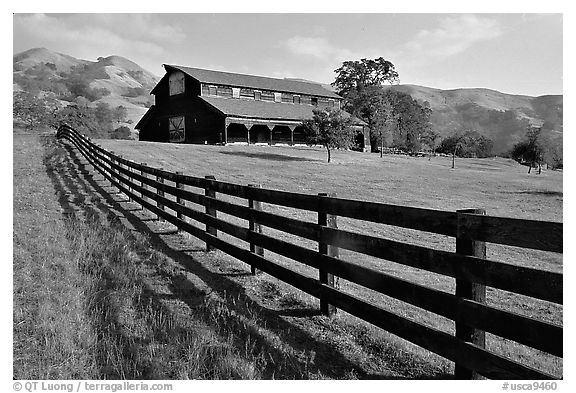 Ranch, Sunol Regional Park. California, USA