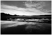 Sunrise near Morro Bay. Morro Bay, USA (black and white)