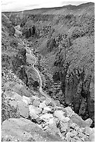 Owens River Gorge. California, USA ( black and white)