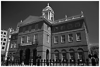 Old State House, 1796. Hartford, Connecticut, USA (black and white)