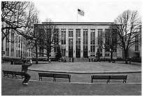 Northeastern University. Boston, Massachussets, USA (black and white)