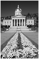 State House, Montpellier. Vermont, New England, USA ( black and white)