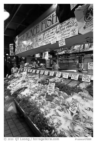 Pike Place Fish Market. Seattle, Washington