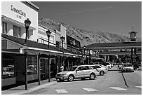 Main street, Cashmere. Washington ( black and white)