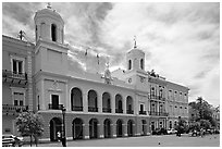 Town Hall. San Juan, Puerto Rico ( black and white)