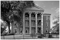 Joseph Smitherman historic building. Selma, Alabama, USA ( black and white)