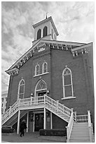 Dexter Avenue King Memorial Baptist Church. Montgomery, Alabama, USA (black and white)